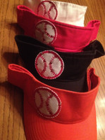 Blinged Baseball Visor