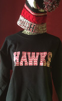 Hawks Crew Neck Fleece In Chevron