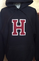 Hawks Hoodie Fleece With Checkerboard H