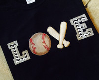 Baseball Love Custom Tee