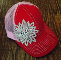 Bling Mega Brand Baseball Cap In Fun Colors
