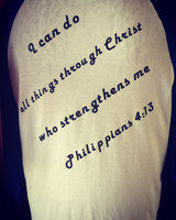 Add A Bible Verse To Your tee!