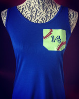 Softball Pocket Tank