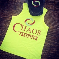 Chaos Fastpitch Tee or Tank