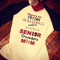 Custom Senior Mom Tee