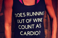 Running Out of Wine, Workout Tank