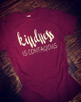 Kindness is Contagious Soft Style Tee