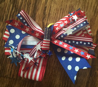 Firecracker Hair Bow