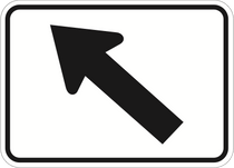 Allstate Sign And Plaque >> Federal - Left Arrow