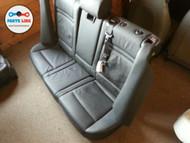 BMW X5 E70 REAR SEAT W/O THIRD ROW SEATS ASSEMBLY BLACK NEVADA LEATHER OEM