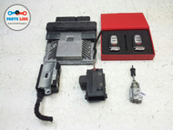 AUDI Q5 QUATTRO ECU ENGINE MOTOR COMPUTER IGNITION KEY LOCK SET OF 6 OEM