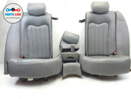 MASERATI QUATTROPORTE M139 REAR SEATS SEAT SET GRAY LEATHER OEM