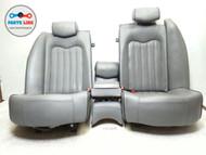 M139 MASERATI QUATTROPORTE REAR SEATS SET CENTER SEAT W/ HEADRESTS OEM