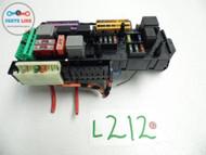 10-12 MERCEDES BENZ GLK X204 GLK350 AWD ENGINE FUSE RELAY BOX SAM JUNCTION OEM