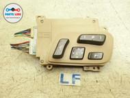 LEXUS LS460 LEFT FRONT DRIVER SIDE SEAT SWITCH CONTROL ADJUST SLIDE TILT OEM