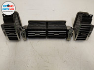 2013-2016 RANGE ROVER L405 FRONT DASHBOARD PANEL AC AIR VENT GRILLE SET OF 3 OEM