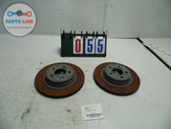 MERCEDES C CLASS W204 C300 REAR DISK ROTORS ROTOR SET OF 2 LEFT RIGHT OEM 2K