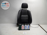 MERCEDES C CLASS W204 C300 FRONT RIGHT SEAT BACK W/ AIR BAG REST BLACK LEATHER