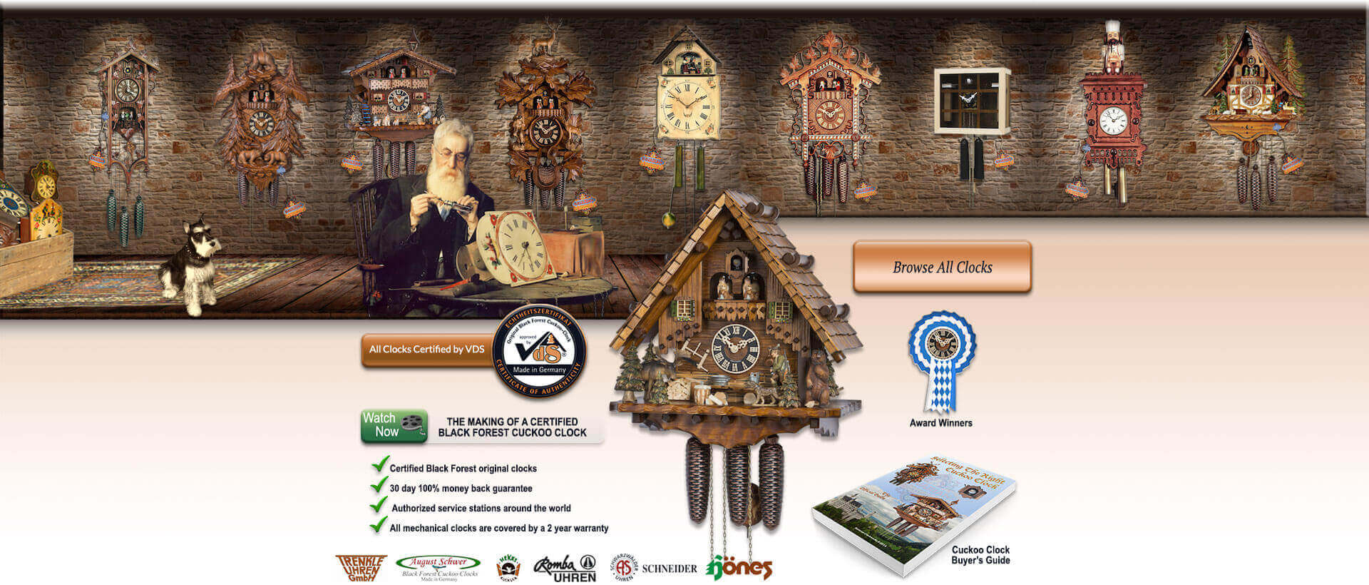 not sure where to begin start here - Black Forest Cuckoo Clocks