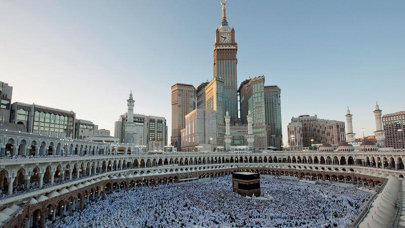 Mecca clock tower