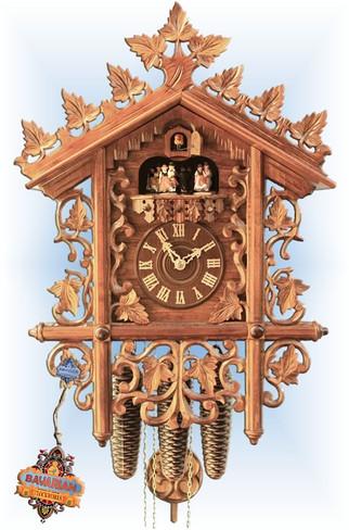 Rombach & Haas | 4521 | 21''H | Circa 1885 | Vintage | cuckoo clock | full view