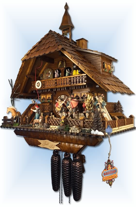 schwer gutshof estate cuckoo clock 23 bavarian clockworks