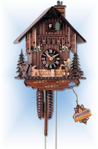 Hones   160   10''H   Clock Trader   Chalet style   cuckoo clock   full view