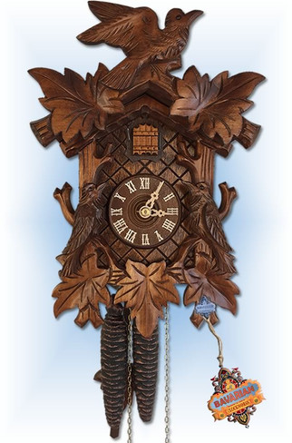 rombach and haas cuckoo clock 12 inch front
