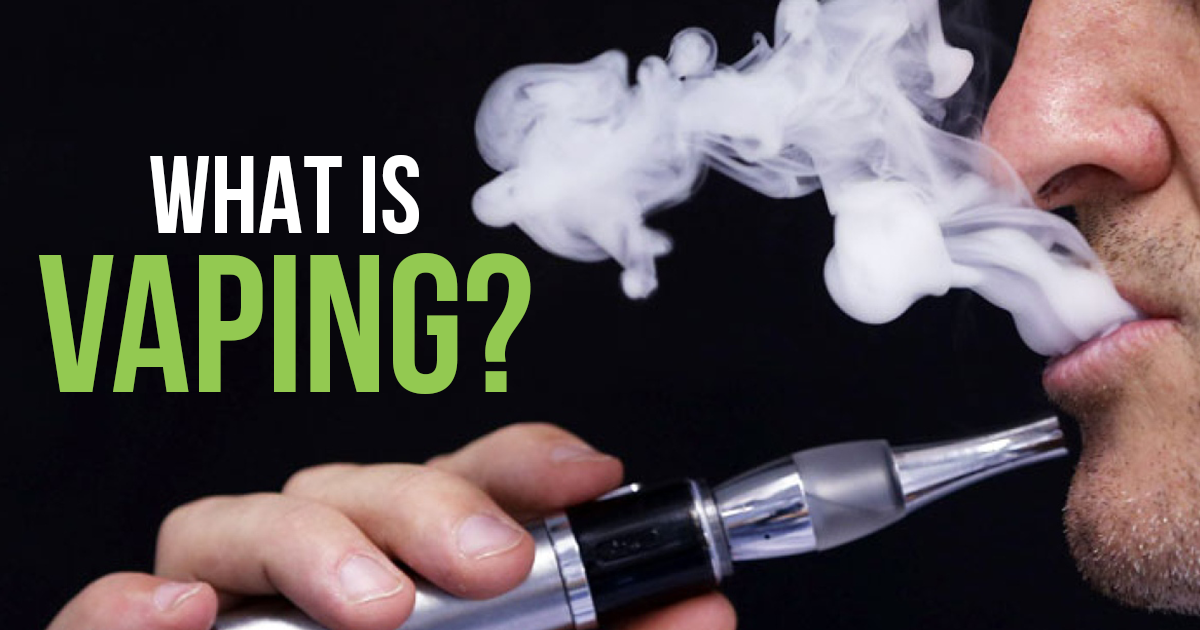 Image result for What Is Vaping?