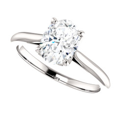 The Annabelle Ring Series  - NEO Moissanite 2.10 Oval Cut Engagement Ring
