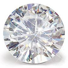 "NEO Moissanite Loose Round ""DIAMOND"" Cut Stone G-H"