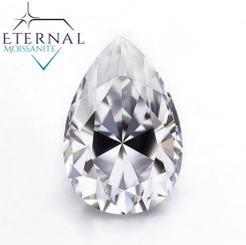 Eternal® Moissanite Pear Shape Loose Stone - EF Color - VIDEO BELOW