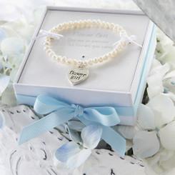 Flower Girl Freshwater Pearl Bracelet