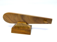 Hawaiian Koa Surfboard (Horizontal)