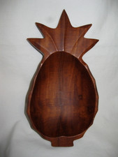 Hawaiian KAMANI WOOD- Pineapple Bowl