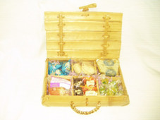 Hawaiian Gift Basket - Bamboo Delight