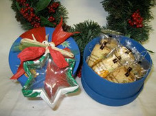 Xmas - Pineapple Gift Box w/ Island Cookies
