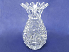 Pineapple Crystal Candle Holder Vase