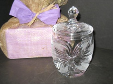 Orchid Crystal Jar