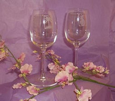 Infinity Wine Glasses (pair)