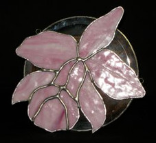 Stained Glass Hawaiia Orchid
