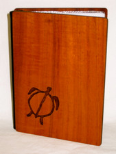 Koa Veneer photo Album  Honu - 4x6