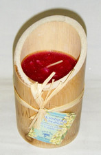 Bamboo Candle Strawberry / Guava