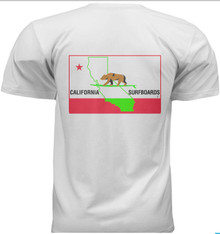 Cal Surf Bear Flag shirt