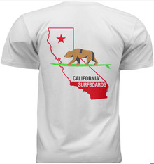 Cal Surf Bear State shirt