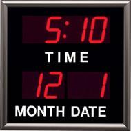 "2"" High Segmented LED Digital Clock And Calendar - Peter Pepper Model Z1862"