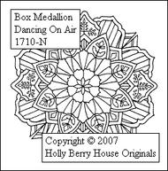Dancing on Air Medallion