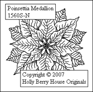 Poinsettia Medallion
