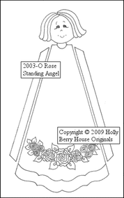 Rose Standing Angel