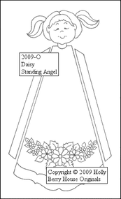 Daisy Standing Angel